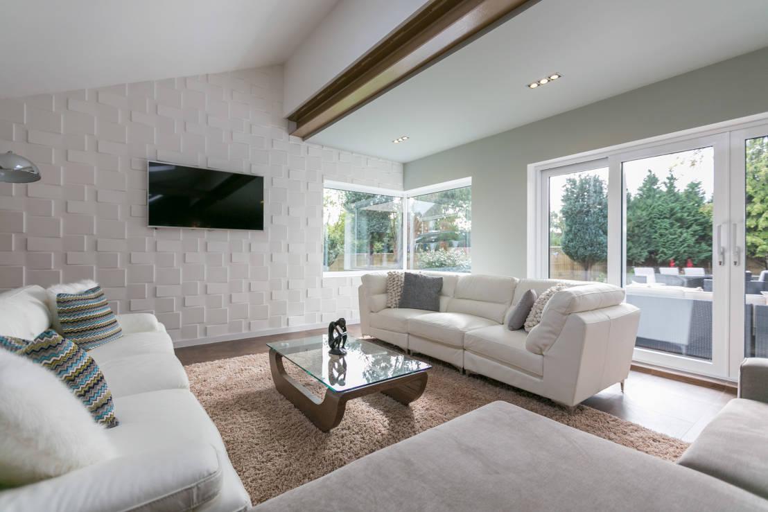 Pannelli tridimensionali pareti e pavimenti - Tavole adesive per pareti 3d ...